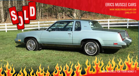 1982 Oldsmobile Cutlass Supreme for sale at Erics Muscle Cars in Clarksburg MD