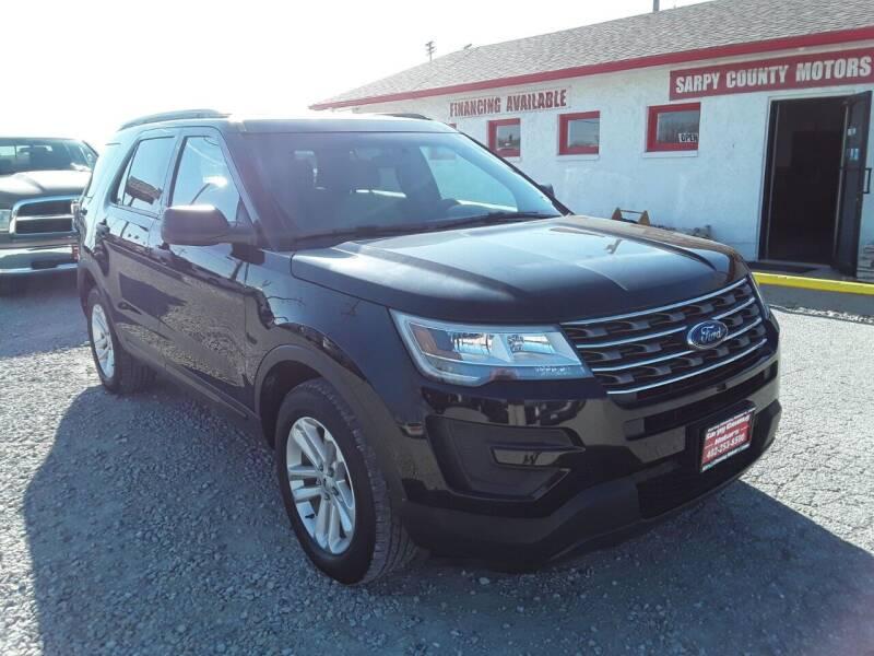 2016 Ford Explorer for sale at Sarpy County Motors in Springfield NE