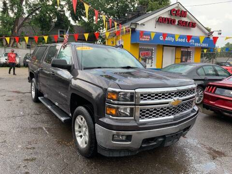 2014 Chevrolet Silverado 1500 for sale at C & M Auto Sales in Detroit MI