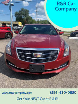 2015 Cadillac ATS for sale at R&R Car Company in Mount Clemens MI