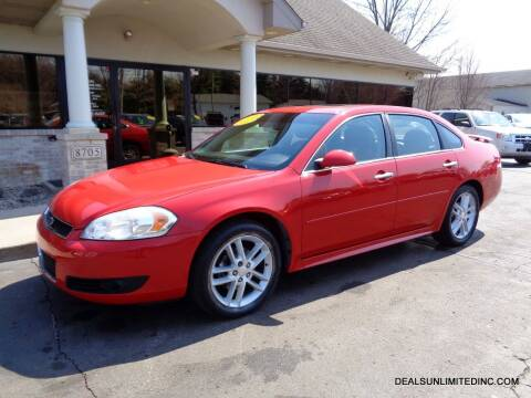 2012 Chevrolet Impala for sale at DEALS UNLIMITED INC in Portage MI