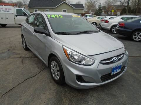 2017 Hyundai Accent for sale at DISCOVER AUTO SALES in Racine WI