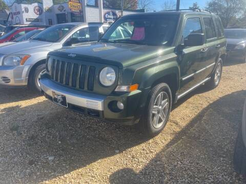 2008 Jeep Patriot for sale at Nelson's Straightline Auto - 23923 Burrows Rd in Independence WI