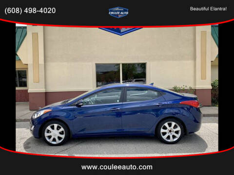 2013 Hyundai Elantra for sale at Coulee Auto in La Crosse WI