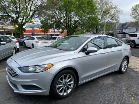2017 Ford Fusion for sale at JOANKA AUTO SALES in Newark NJ