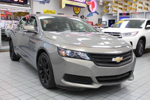 2017 Chevrolet Impala for sale at Windy City Motors in Chicago IL