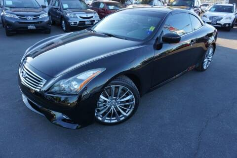 2011 Infiniti G37 Convertible for sale at Industry Motors in Sacramento CA