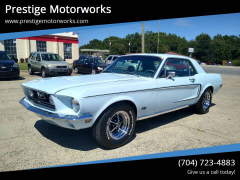 1968 Ford Mustang for sale at Prestige Motorworks in Concord NC