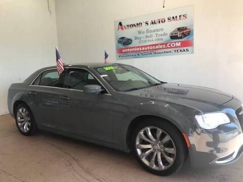 2018 Chrysler 300 for sale at Antonio's Auto Sales in South Houston TX