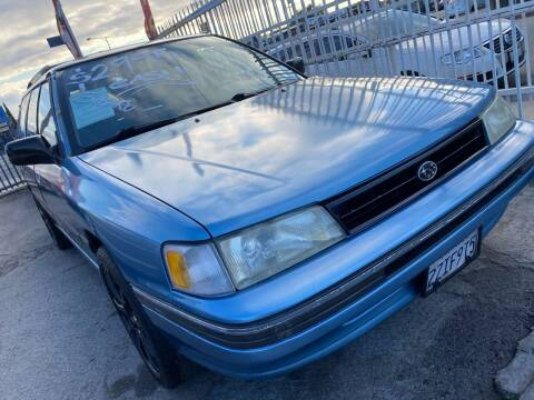 1991 Subaru Legacy for sale at Olympic Motors in Los Angeles CA