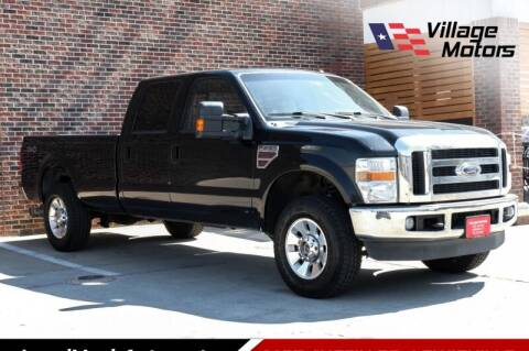 2010 Ford F-250 Super Duty for sale at Village Motors in Lewisville TX