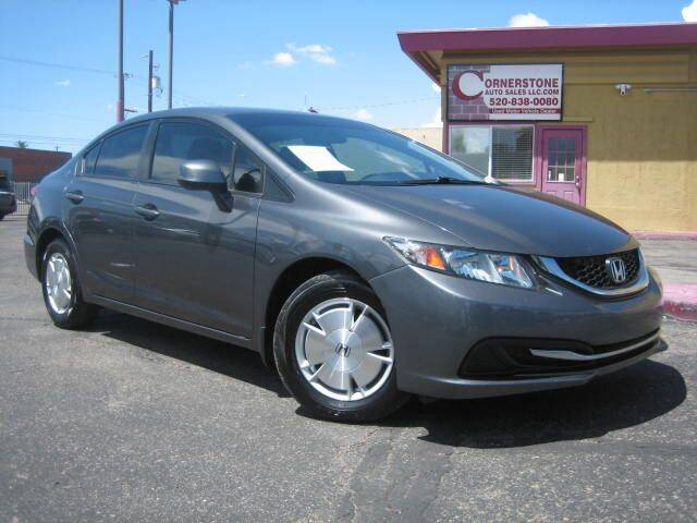 2013 Honda Civic for sale at Cornerstone Auto Sales in Tucson AZ