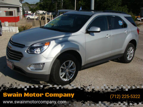 2017 Chevrolet Equinox for sale at Swain Motor Company in Cherokee IA