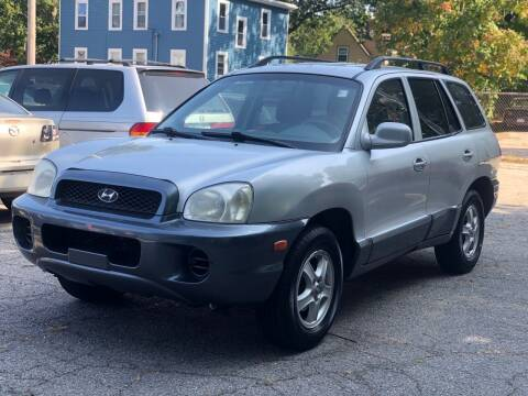 2004 Hyundai Santa Fe for sale at Emory Street Auto Sales and Service in Attleboro MA