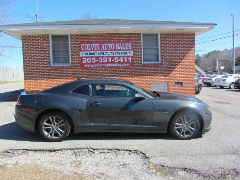 2014 Chevrolet Camaro for sale at Colvin Auto Sales in Tuscaloosa AL