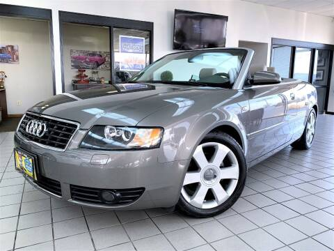 2005 Audi A4 for sale at SAINT CHARLES MOTORCARS in Saint Charles IL