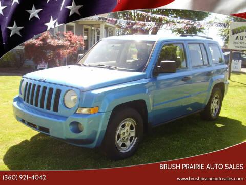 2008 Jeep Patriot for sale at Brush Prairie Auto Sales in Battle Ground WA