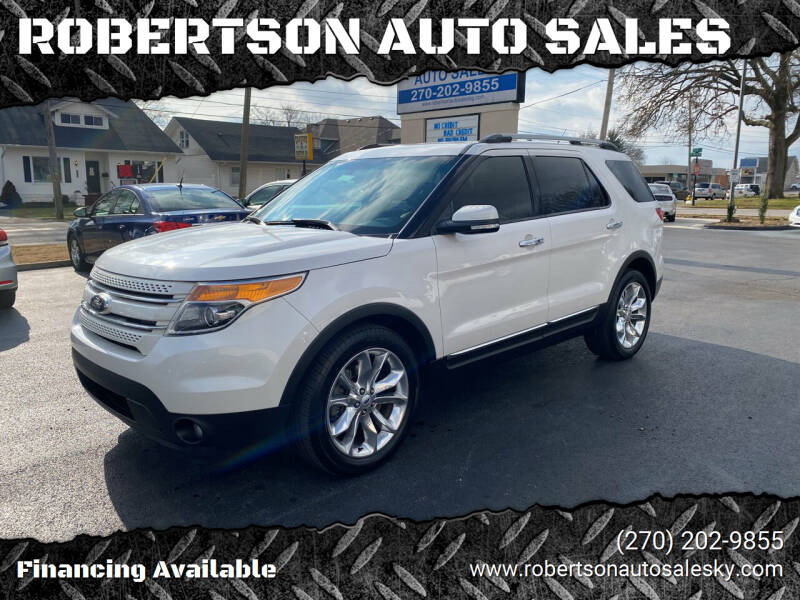 2014 Ford Explorer for sale at ROBERTSON AUTO SALES in Bowling Green KY