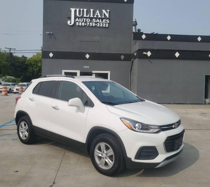 2017 Chevrolet Trax for sale at Julian Auto Sales, Inc. in Warren MI