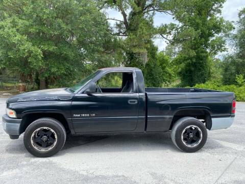 2001 Dodge Ram Pickup 1500 for sale at Faith Auto Sales in Jacksonville FL