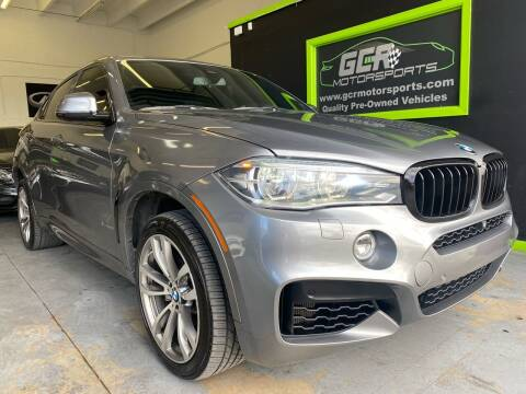 2015 BMW X6 for sale at GCR MOTORSPORTS in Hollywood FL