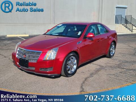 2009 Cadillac CTS for sale at Reliable Auto Sales in Las Vegas NV
