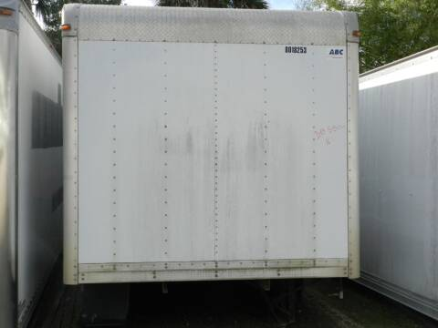 2009 AMERICAN BODY COMPANY DRY VAN for sale at DEBARY TRUCK SALES in Sanford FL