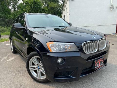 2012 BMW X3 for sale at JerseyMotorsInc.com in Teterboro NJ