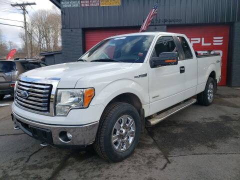 2012 Ford F-150 for sale at Apple Auto Sales Inc in Camillus NY