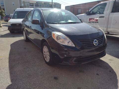 2012 Nissan Versa for sale at VEST AUTO SALES in Kansas City MO