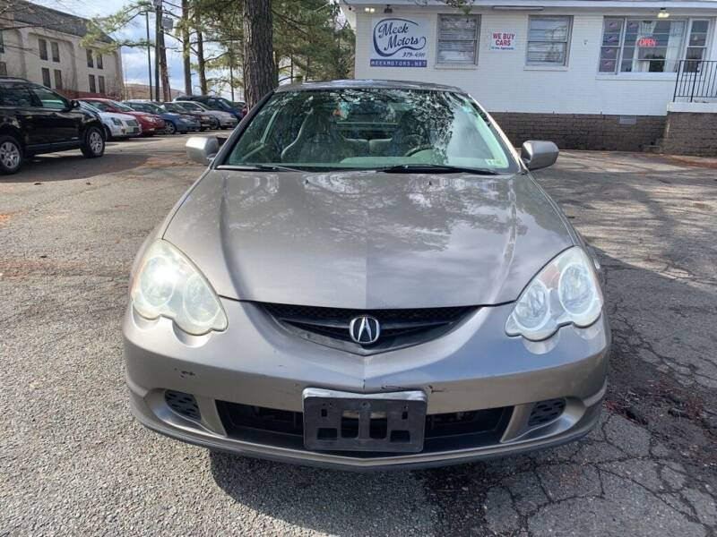 2003 Acura RSX for sale at MEEK MOTORS in North Chesterfield VA