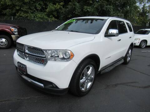 2013 Dodge Durango for sale at LULAY'S CAR CONNECTION in Salem OR