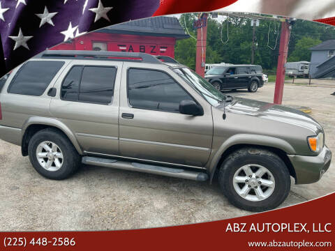 2003 Nissan Pathfinder for sale at ABZ Autoplex, LLC in Baton Rouge LA