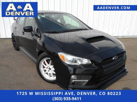 2015 Subaru WRX for sale at A & A AUTO LLC in Denver CO