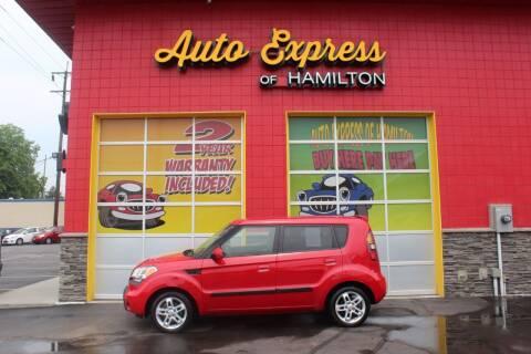 2010 Kia Soul for sale at AUTO EXPRESS OF HAMILTON LLC in Hamilton OH