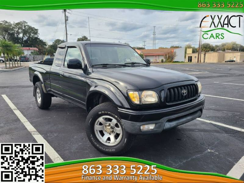 2002 Toyota Tacoma for sale at Exxact Cars in Lakeland FL