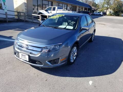 2011 Ford Fusion for sale at Best Auto Sales in Jacksonville NC