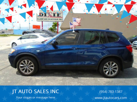 2013 BMW X3 for sale at JT AUTO SALES INC in Oakland Park FL