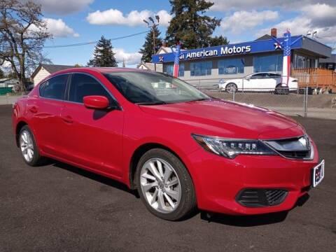 2017 Acura ILX for sale at All American Motors in Tacoma WA