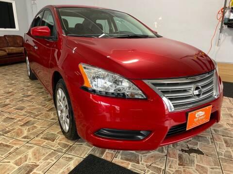 2014 Nissan Sentra for sale at TOP SHELF AUTOMOTIVE in Newark NJ