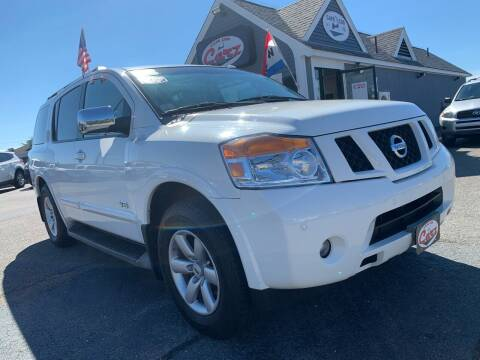 2008 Nissan Armada for sale at Cape Cod Carz in Hyannis MA