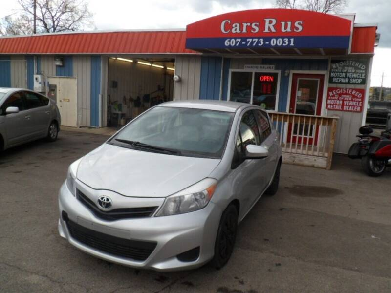 2013 Toyota Yaris Hatchback for sale at Cars R Us in Binghamton NY