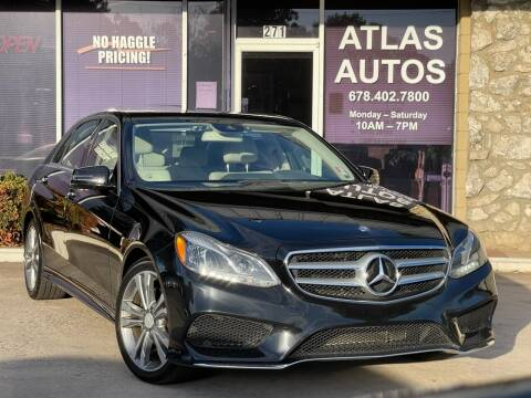 2014 Mercedes-Benz E-Class for sale at ATLAS AUTOS in Marietta GA