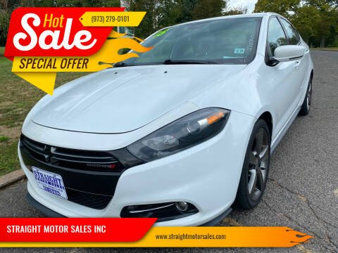 2015 Dodge Dart for sale at STRAIGHT MOTOR SALES INC in Paterson NJ