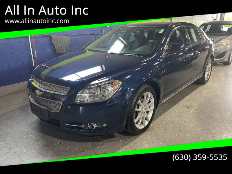 2012 Chevrolet Malibu for sale at All In Auto Inc in Addison IL
