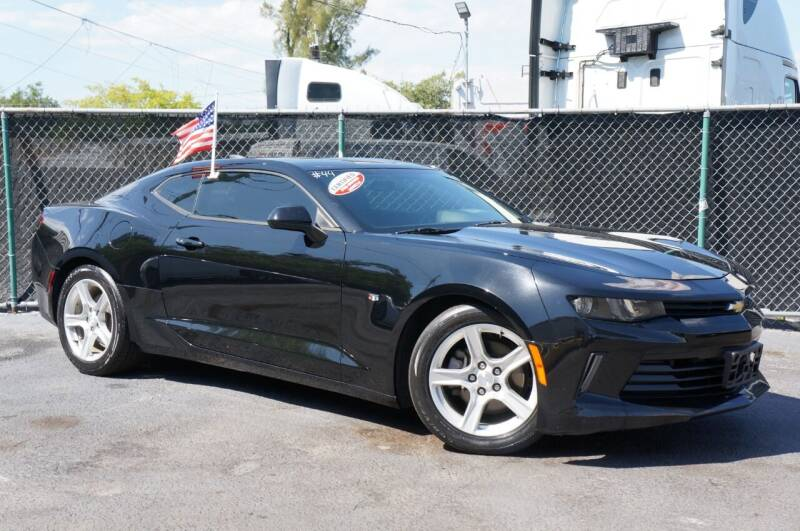 2017 Chevrolet Camaro for sale at MATRIX AUTO SALES INC in Miami FL