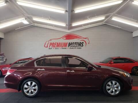 2008 Honda Accord for sale at Premium Motors in Villa Park IL