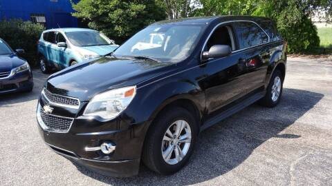 2015 Chevrolet Equinox for sale at HOUSTON'S BEST AUTO SALES in Houston TX