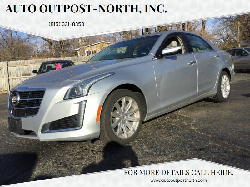 2014 Cadillac CTS for sale at Auto Outpost-North, Inc. in McHenry IL