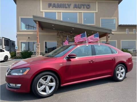 2015 Volkswagen Passat for sale at Moses Lake Family Auto Center in Moses Lake WA
